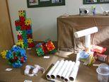 箱と箱をつけることを覚えて、今では、作りたいものを作るようになってきました。