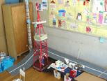 東京タワーとスカイツリーが背くらべ
