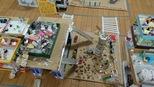 自分たちが毎日通っている幼稚園。園庭や部屋の中など細かいところまでよく気付いていました!